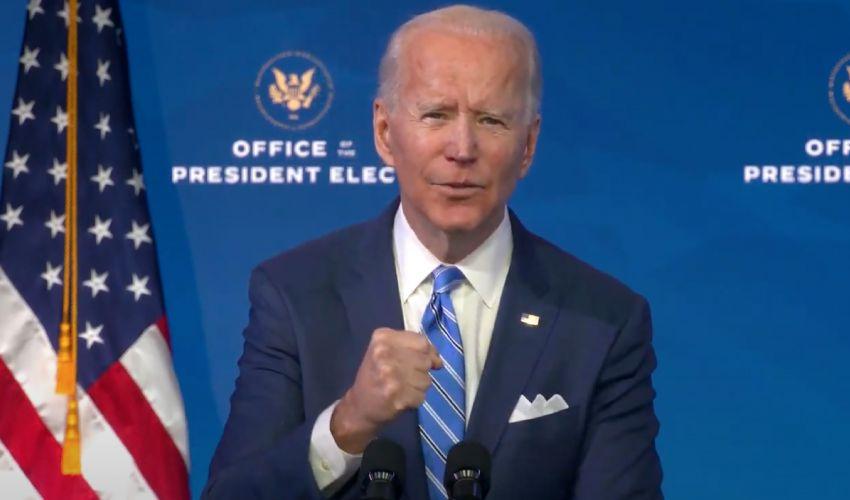 """Usa, il primo discorso del """"quasi"""" Presidente Biden: """"Sono ottimista"""""""