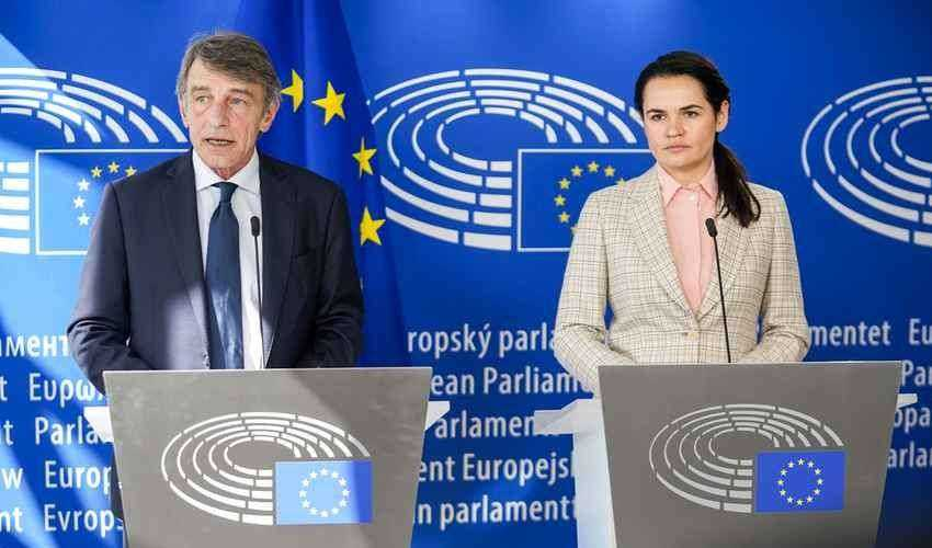 Bielorussia, sanzioni Ue: manca unanimità. Tikhanovskaya è a Bruxelles