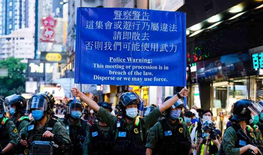 """Chi è """"fast Beat"""", leader della protesta di Hong Kong contro Pechino"""