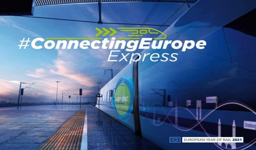 Connecting Europe Express: come prendere il nuovo treno smart dell'Ue
