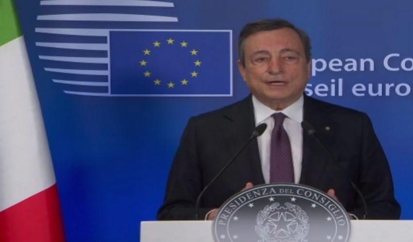Consiglio europeo, Bruxelles: Draghi su green pass, vaccini e migranti