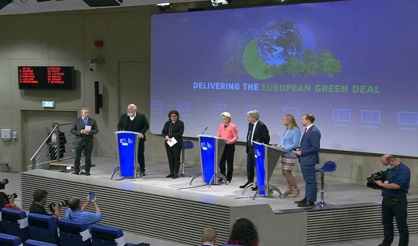 Clima: Ue presenta nuovo Piano per tagliare 55% di Co2 entro il 2030