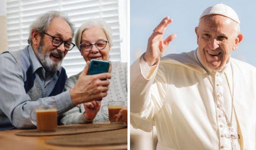 """Giornata mondiale dei Nonni, Papa: """"Per loro non c'è pensione"""""""