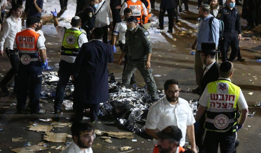 Israele, calca al raduno religioso: almeno 44 morti e 150 feriti