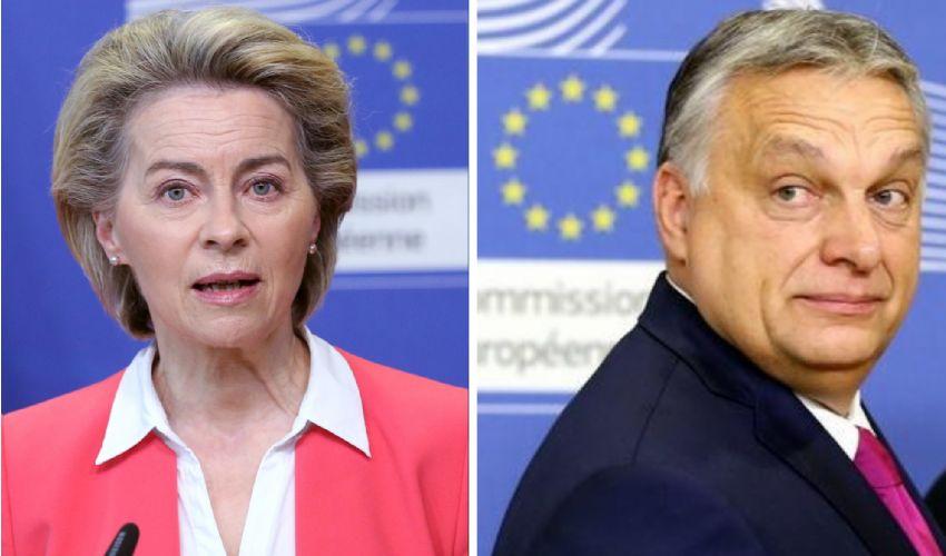 "Lgbt, Ue ultimatum a Orban, Von der Leyen: ""userò tutti i poteri"""