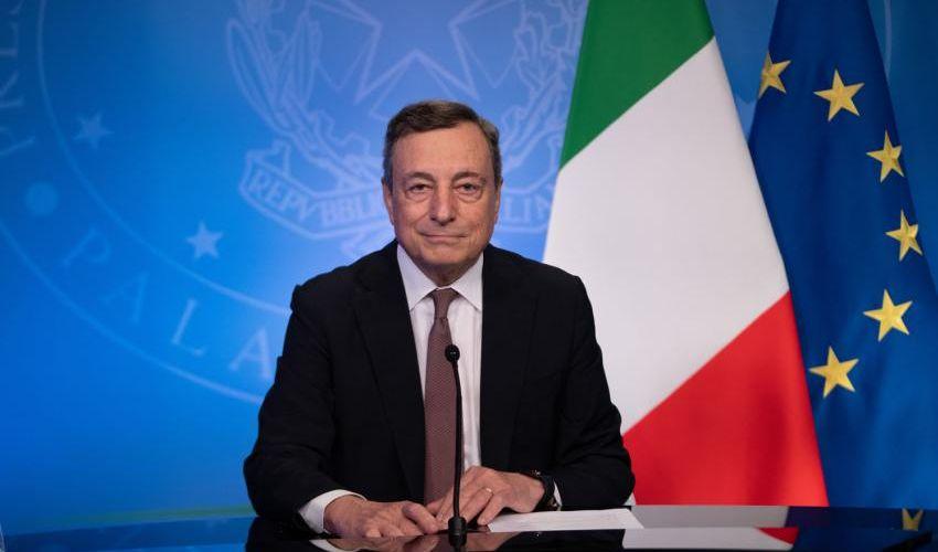 """Onu, Draghi: """"Italia donerà 45 mln dosi. Occorre vaccinazione globale"""""""