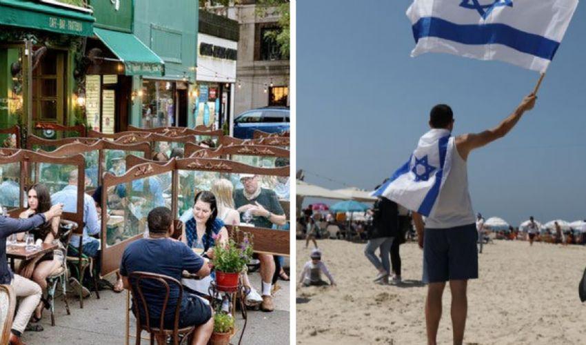 Gli Usa riaprono, in Israele via le mascherine anche al chiuso