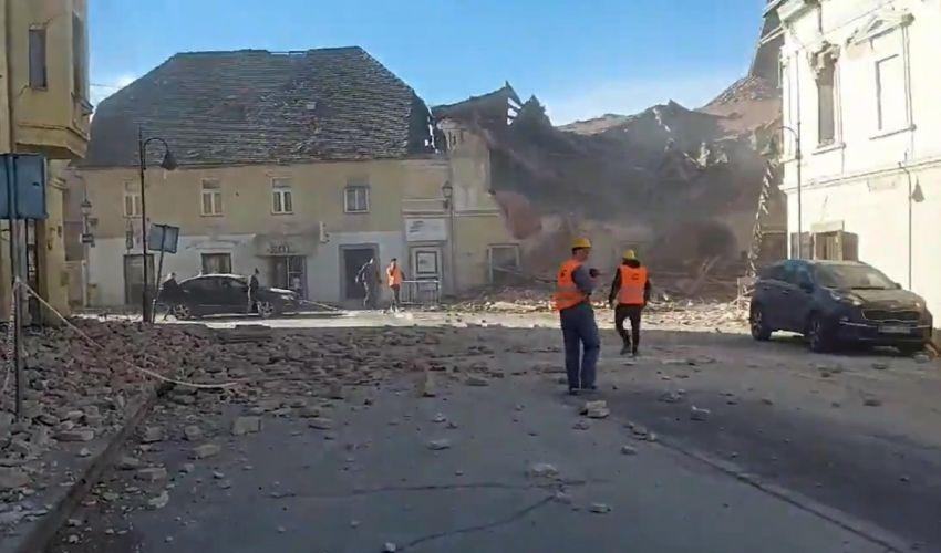 Terremoto in Croazia, epicentro a Petrinja. Vittime e ingenti danni