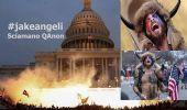 Jake Angeli, sciamano QAnon ultra-ricercato da polizia USA e Social