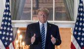 Donald Trump dimesso dall'ospedale: «Non temete il Covid»