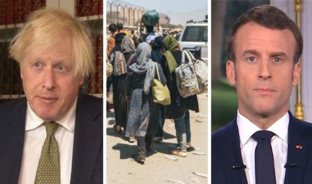 """Afghanistan, Macron e Johnson per una """"safety zone"""" di evacuazione"""