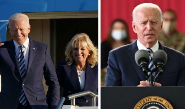 """Biden sbarcato in Europa, primo messaggio a Mosca: """"America is back"""""""