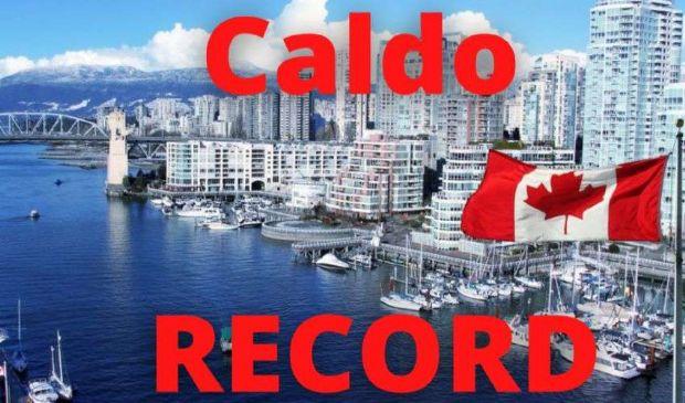 Caldo record, vittime in Canada e Nord Usa con quasi 50 gradi