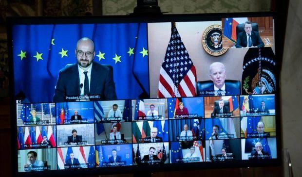 Joe Biden e i leader Ue: di cosa hanno parlato al Consiglio europeo