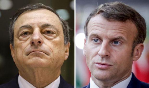 """Mario Draghi """"il tessitore"""": da Macron per Afghanistan e rifugiati"""