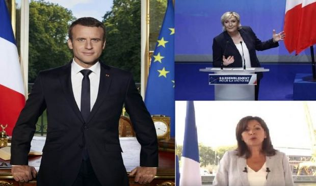 Elezioni Francia: Le Pen e Hidalgo in corsa contro Macron per l'Eliseo