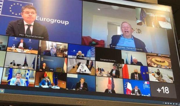 """Eurogruppo: covid e recovery, squilibri """"aperti"""" nell'Eurozona"""