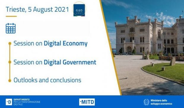 G20 Trieste: al via le riunioni intergovernative su economia digitale