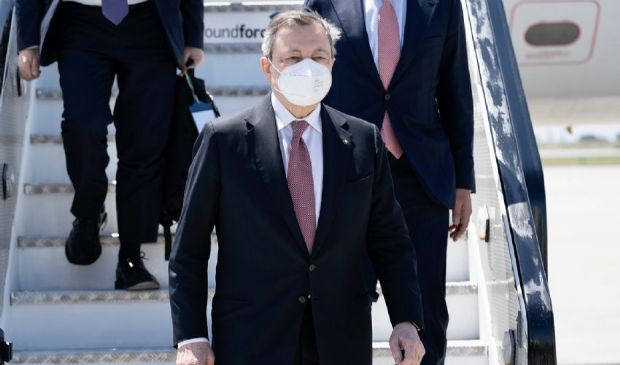 G7, Draghi oggi in Cornovaglia: domani il bilaterale con Biden