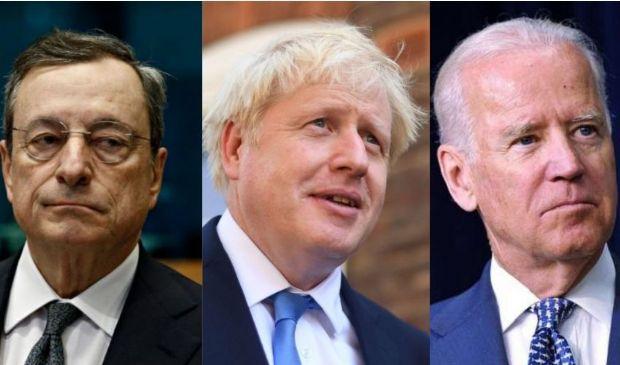 """Prove generali del G7, oggi Draghi """"debutta"""" con Biden, Johnson & C."""