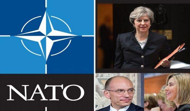 NATO in cerca di un capo: May, Letta, Mogherini i 3 candidati di punta