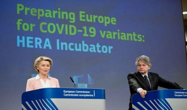 Incubatore HERA: cos'è e cosa prevede piano Ue contro varianti covid