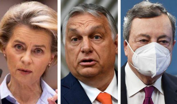 Lettera Ue a Orban su omosessualità. Draghi: Ue stabilisce violazioni