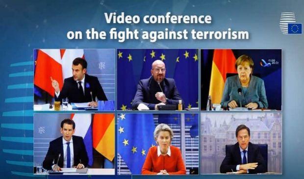 Ue, lotta al terrorismo: mini-vertice dell'asse Macron-Kurz-Merkel