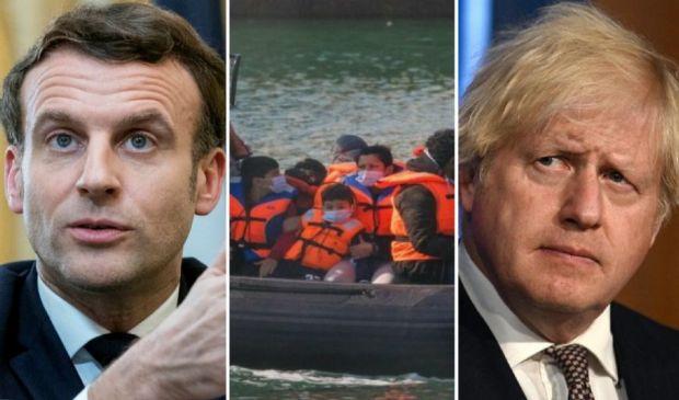 Migranti, record di sbarchi in Gran Bretagna. Johnson attacca Macron