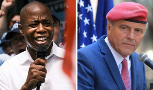 "New York, in corsa due ""candidati sceriffi"": Eric Adams e Curtis Sliwa"