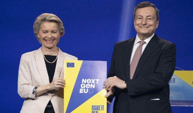 Ok a PNRR Italia: soddisfazione Draghi-Von der Leyen e anche Gentiloni