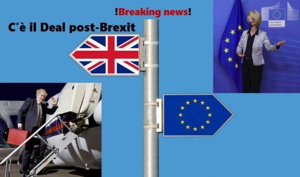 """Brexit 2021: """"Abbiamo finalmente trovato l'accordo"""", c'è il deal UK-Ue"""
