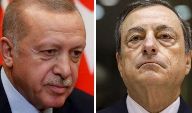 """Sofagate, Draghi: """"Erdogan dittatore"""". La Turchia: """"Inaccettabile"""""""