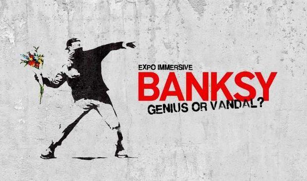 Banksy: il successo della mostra a Bruxelles con le opere più belle