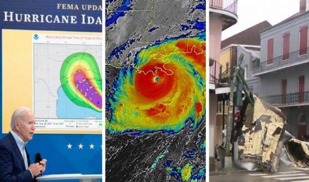 "Uragano Ida in Louisiana, Biden: ""Devastante"". Venti a 240 km/h"