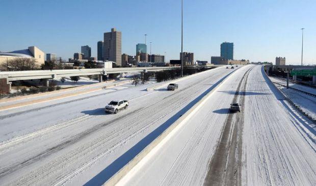 Usa, gelo e temperature record in Texas: più freddo che in Alaska