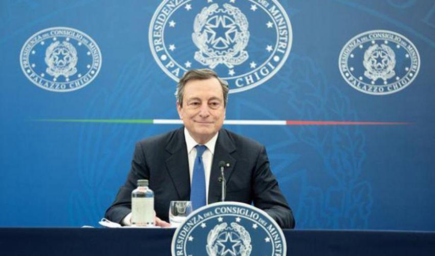 Draghi: Rischio ragionato su riaperture. Dal 26 aprile torna il giallo