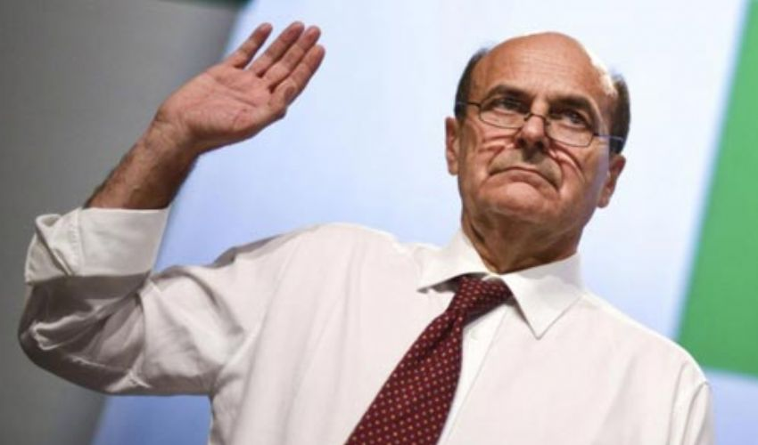Quando Luigi Bersani si dimise da Segretario Generale del Partito Pd