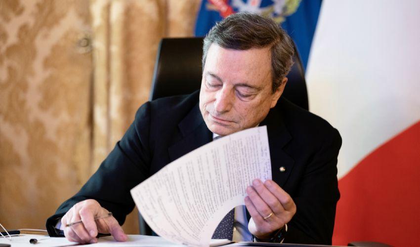 Dpcm Draghi oggi la bozza: cosa prevede, misure e ultime novità