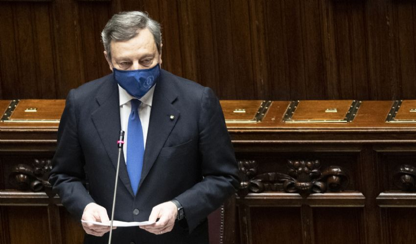 Dpcm Draghi nel week end: misure più rigide a causa varianti Covid