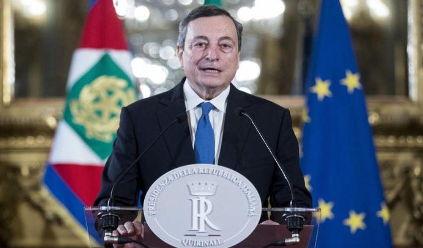 """Draghi accetta l'incarico con riserva. """"Fiducioso nel dialogo"""""""