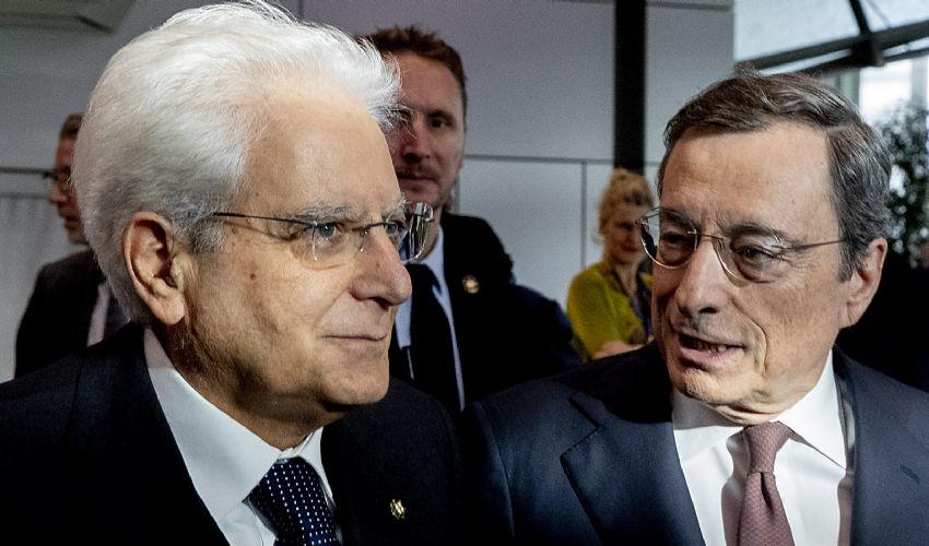 Draghi e Mattarella scelgono i ministri come da art. 92 della Carta