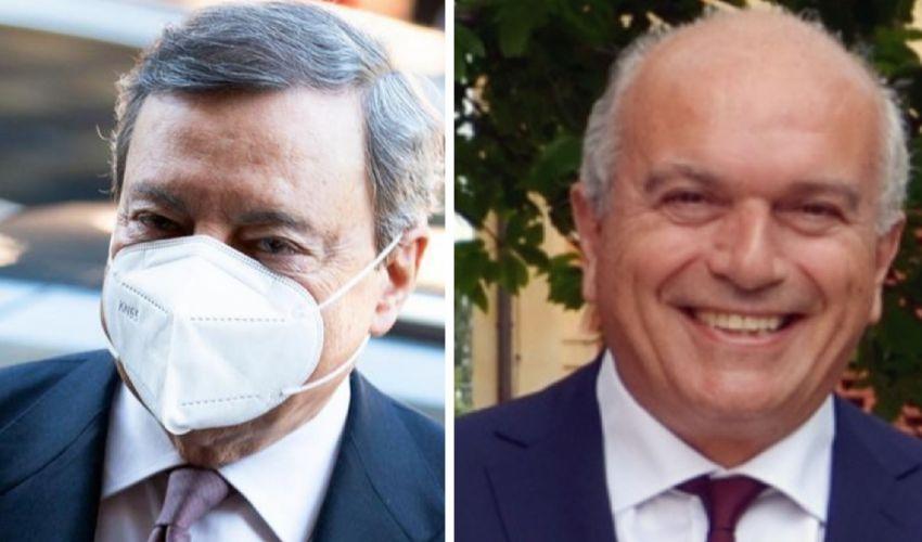 """Draghi sceglie la ceramica per il suo """"debutto"""" nell'industria"""