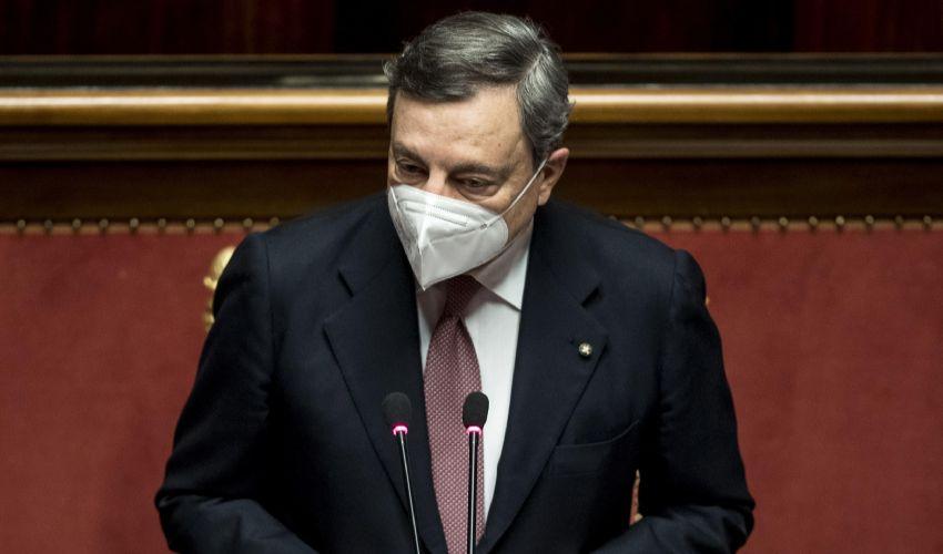 Fiducia governo Draghi, 262 sì al Senato. Oggi voto alla Camera