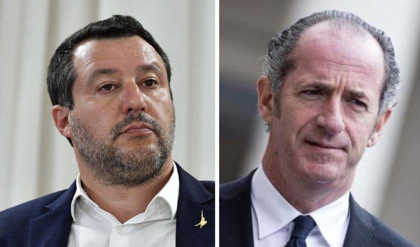 """Nervosismo nella Lega. Zaia frena: """"Salvini non è in discussione"""""""