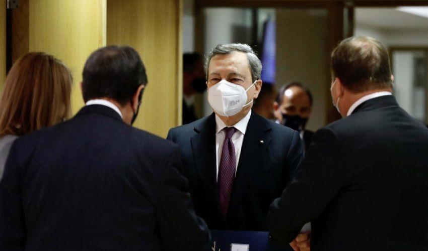 Maggioranza divisa, Draghi media su lavoro, giustizia, tasse e ddl Zan