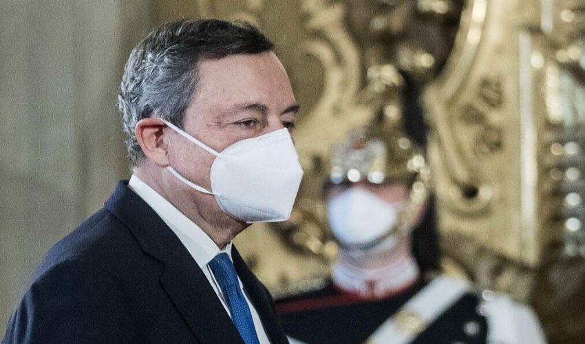 Consultazioni Draghi: oggi i partiti più grandi, poi le parti sociali