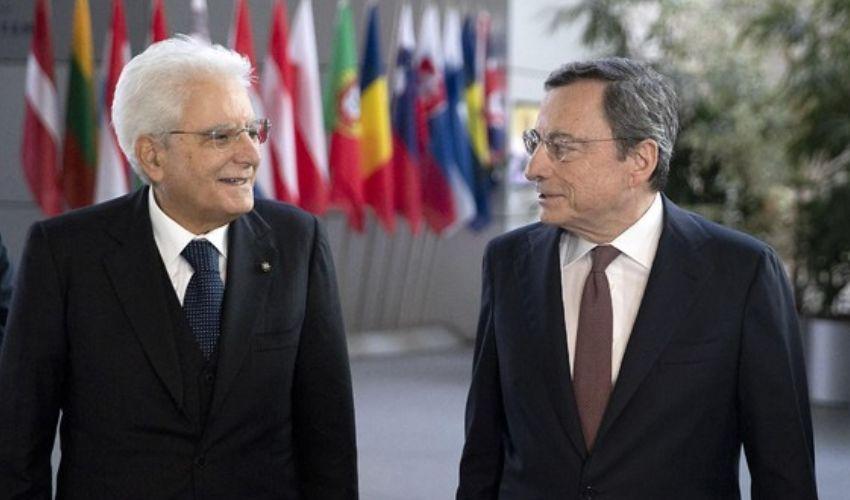 Il presidente Mattarella ha convocato Mario Draghi al Quirinale
