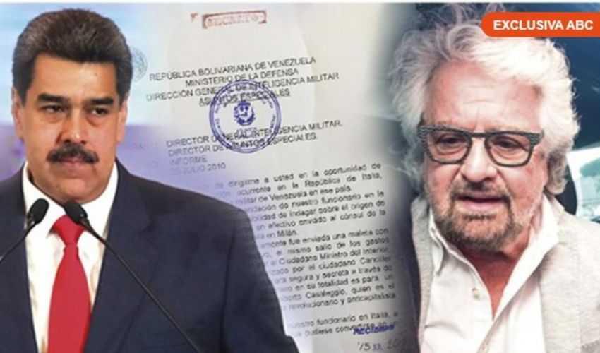 Da Madrid accuse al M5S: presunti finanziamenti in nero dal Venezuela