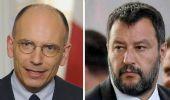 Europa, match tra Salvini e Letta: due approcci che non stanno insieme